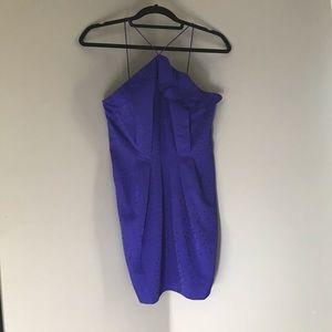 Royal Blue Mini Topshop Dress 💫